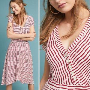 Anthropologie Maeve Paladino Textured Dress